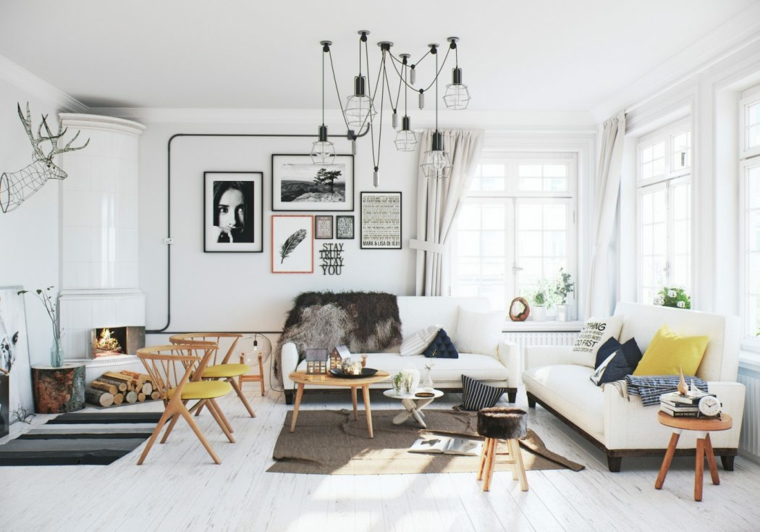 Décoration nordique appartement design salle à manger Image Box Idée de studios