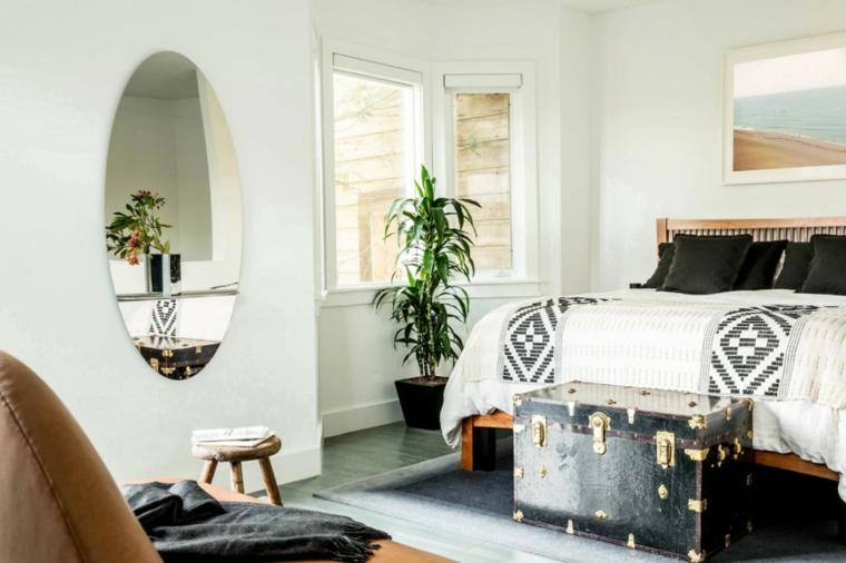 Décoration nordique appartement chambre à coucher Geremia idées de design