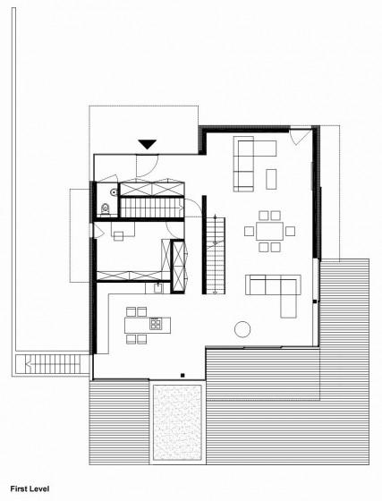 Plans de maison à deux étages - Premier étage