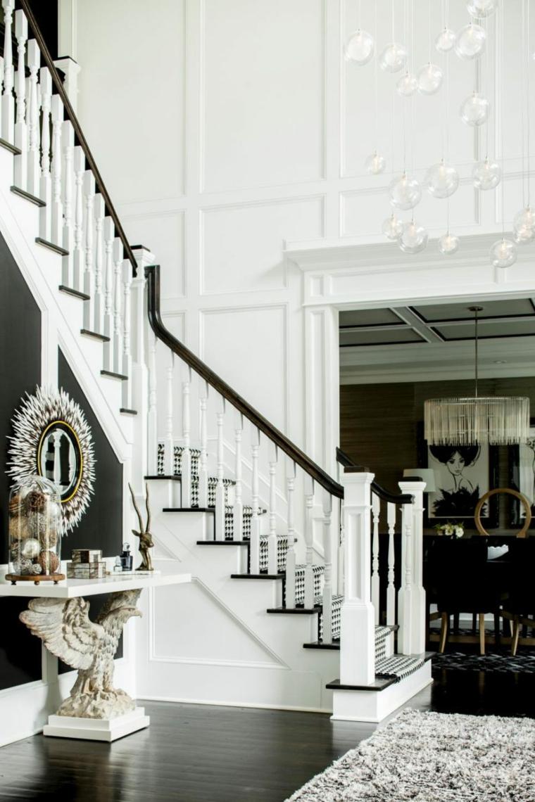 hall d'entrée escalier design