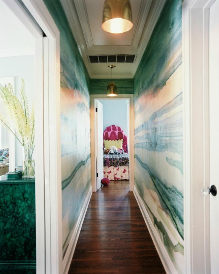 décoration de couloir design moderne