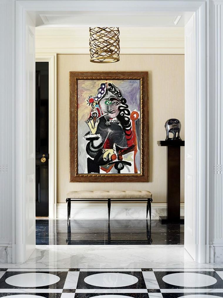 image de couloirs de décoration originale