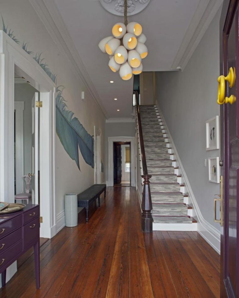 grande entrée de décoration design