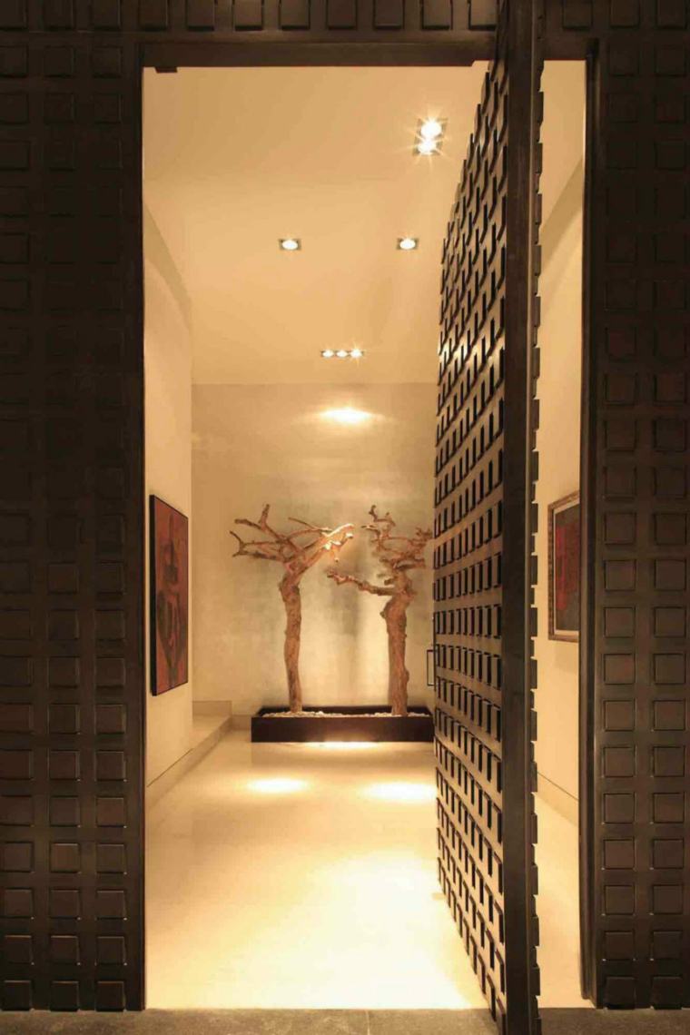 décoration de couloir design contemporain