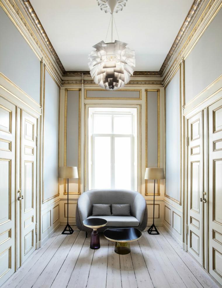 Fauteuil moderne couloir design original