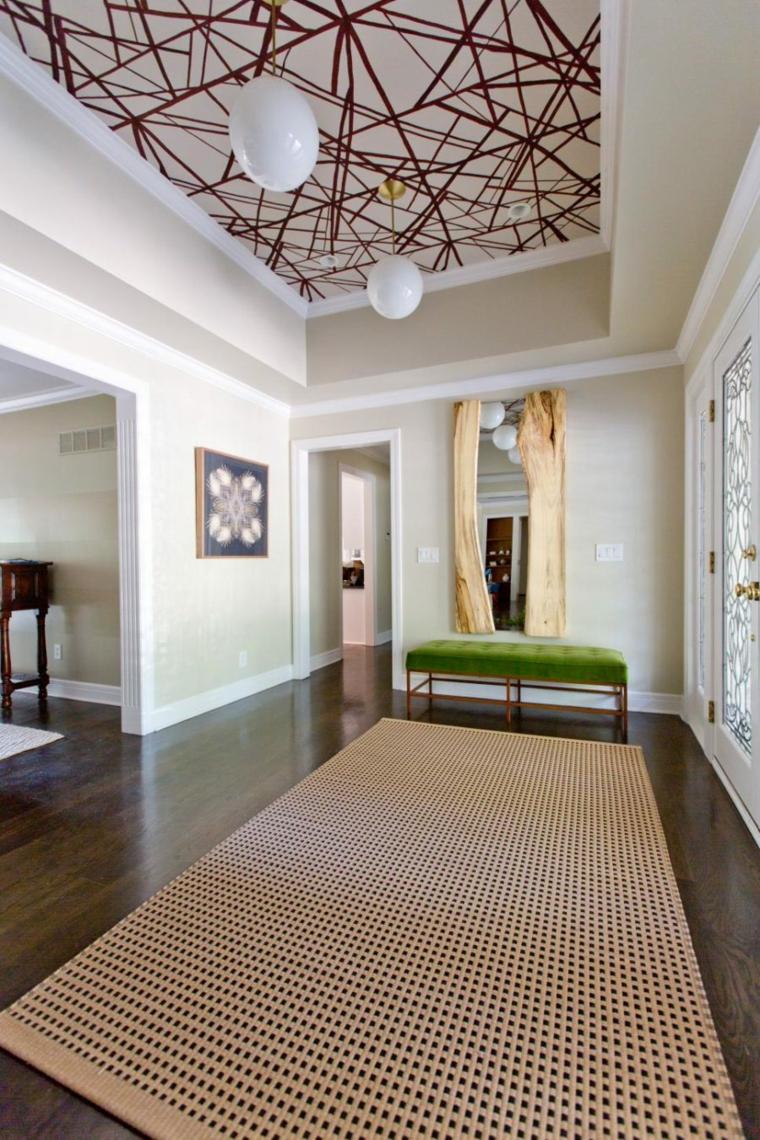 décoration de couloir originale
