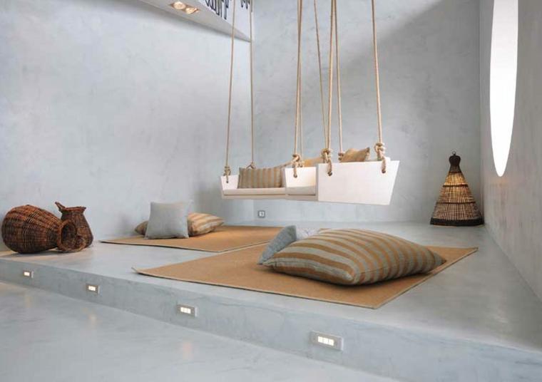 salon de plancher de microciment