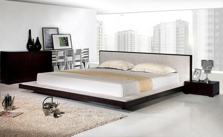 les lits japonais décorent