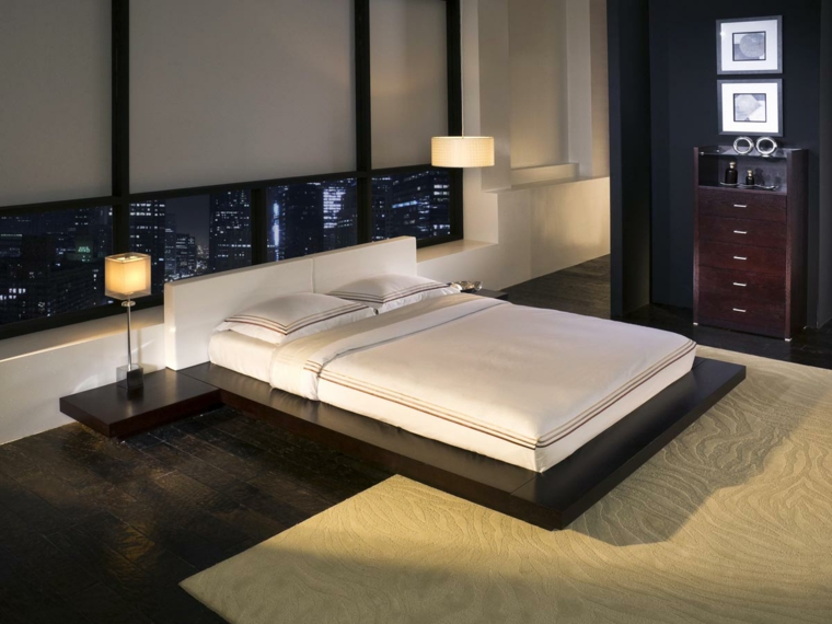 lit de style japonais