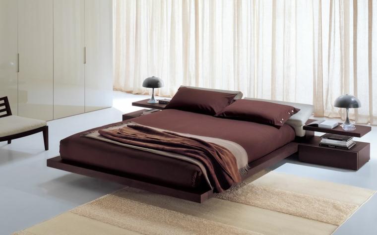 lits japonais décoration chambres