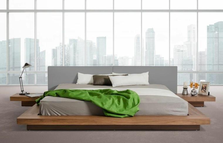 élégants lits japonais