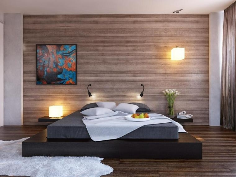 Chambre avec lits modernes japonais