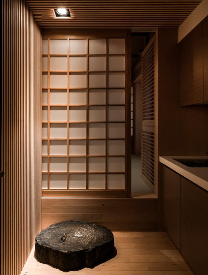 panneaux de séparation de salle de bains menés japonais