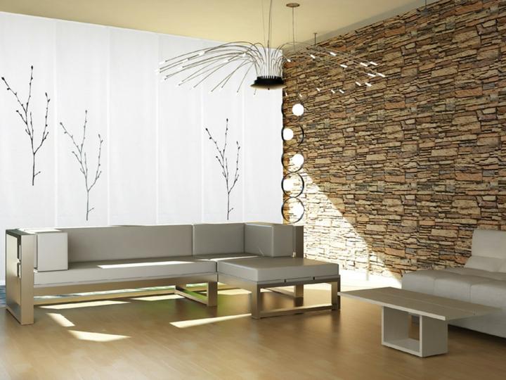 belles branches de salons de l'espace minimaliste