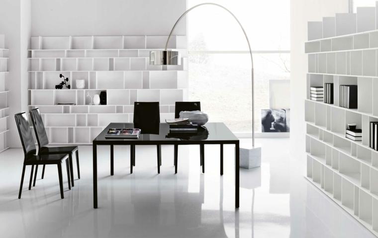 conception de bureau blanc