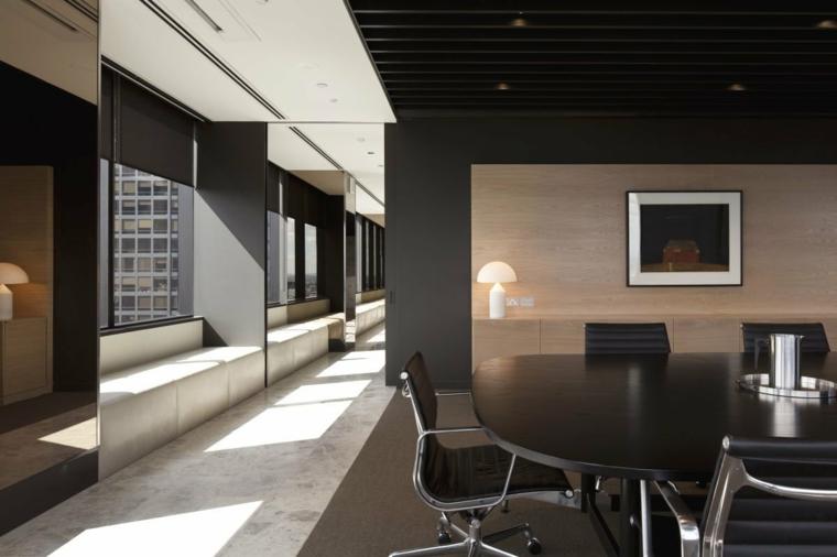 bureaux au design moderne