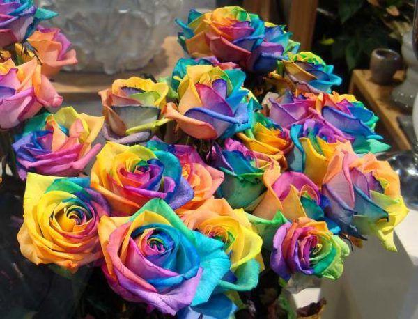 artisanat pour la fête des mères roses colorées