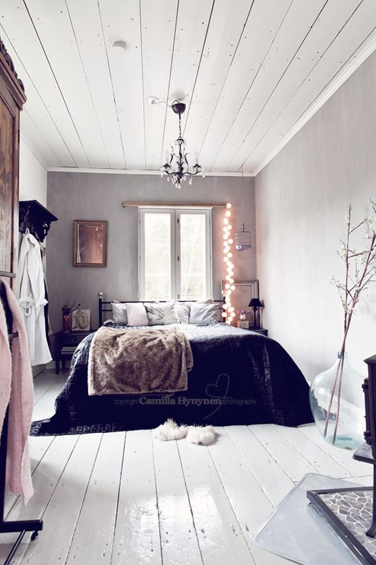 22 chambre bleue boho chic