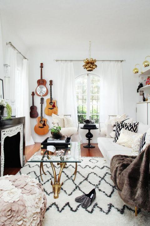 21 modèles de guitares de salon bohème