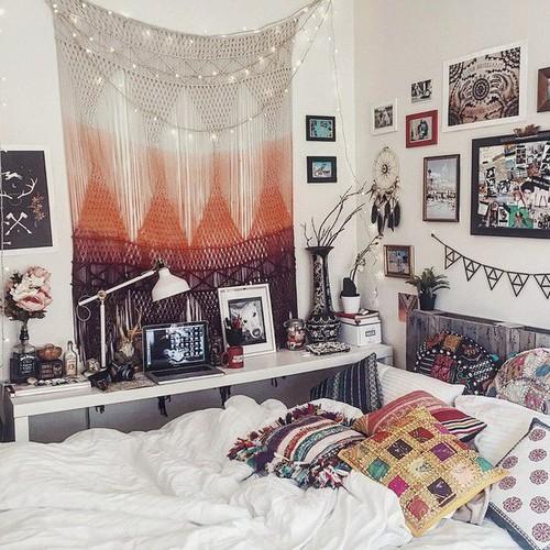 25 dortoir tapisserie bohème