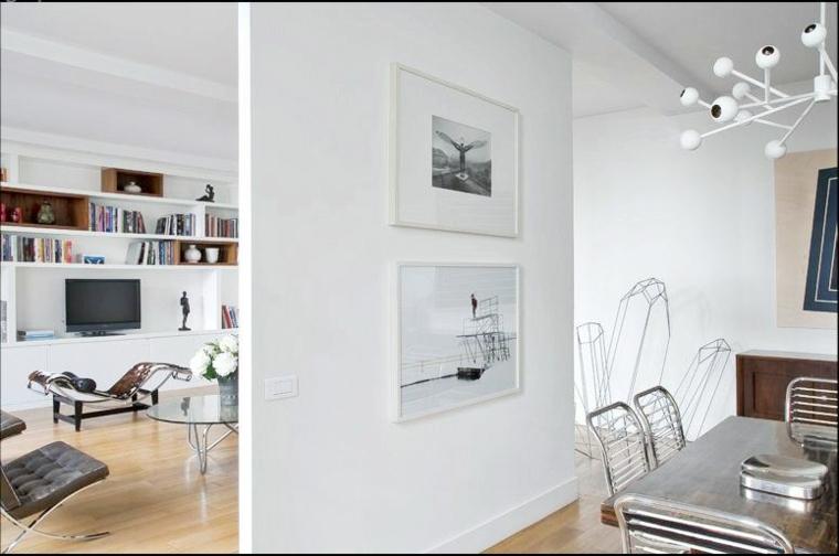 diviseur de pièce blanc de mur intérieur