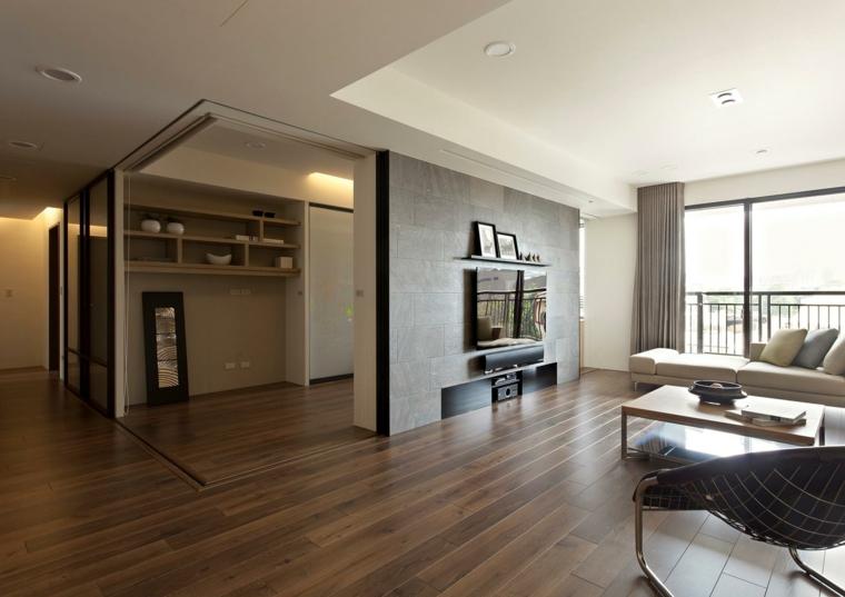 salon moderne design de style minimaliste