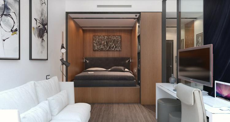 appartements espace télévision salons chaises