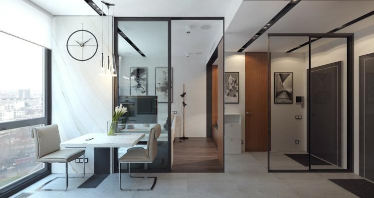 appartements espace salons styles meubles fauteuils