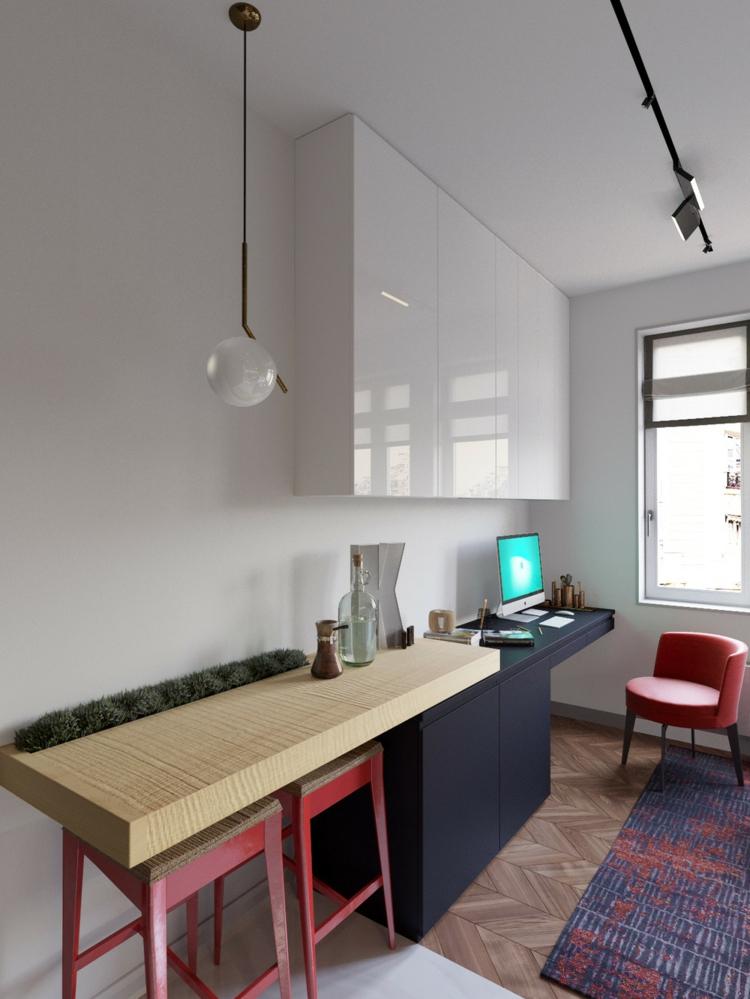 tapis éléments couleurs bois lampes