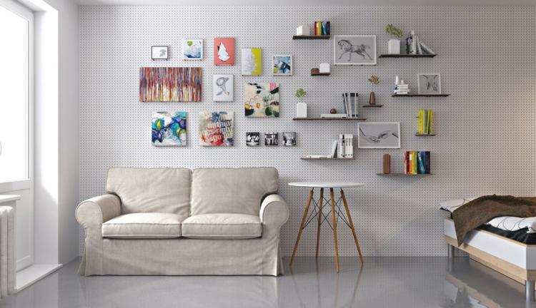 environnements colorés matériaux salons chaises