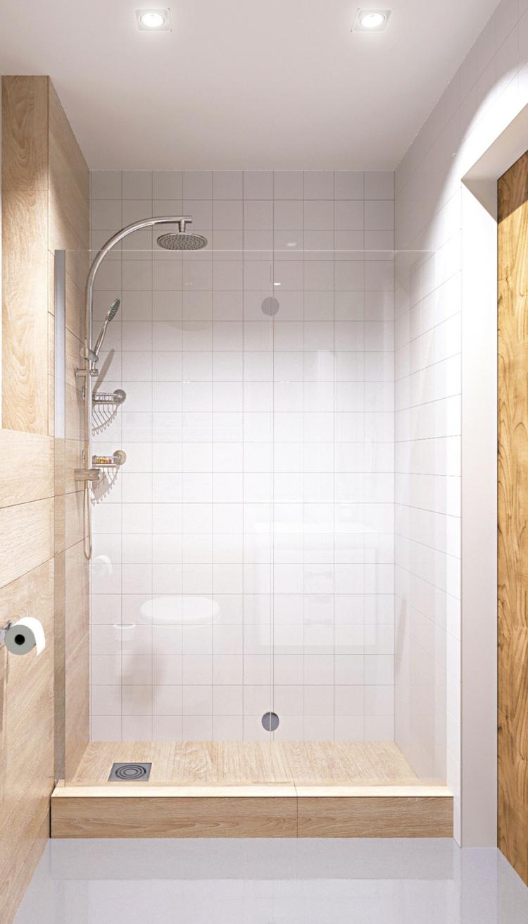 douches lignes couleurs chambres salle de bain blanc