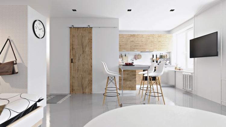 portes rustiques tables de divisions en bois