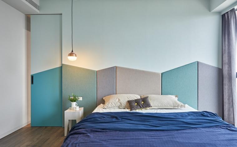 couleurs de la tête de lit rembourrée design original