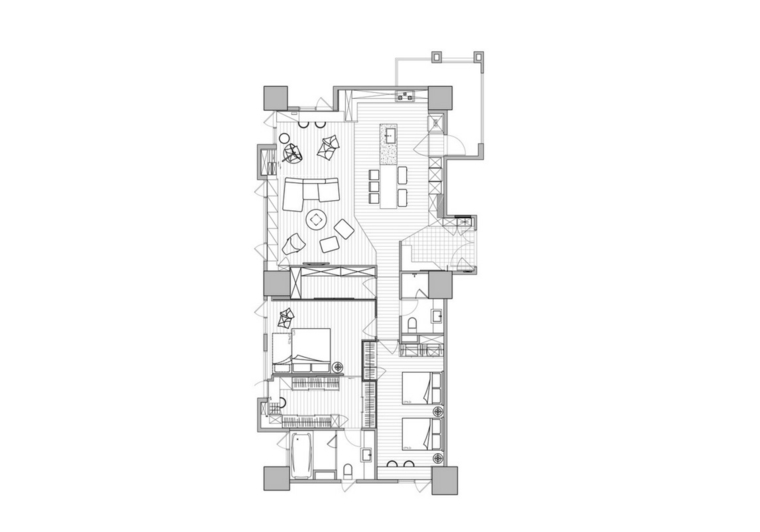 maison appartement style moderne
