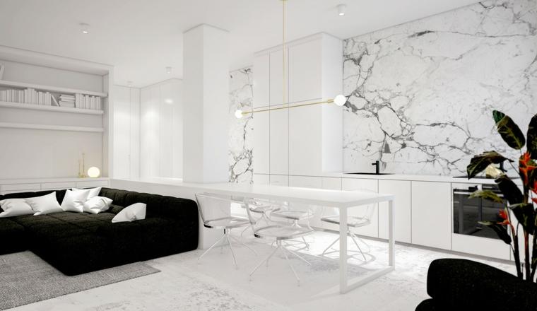 coussins de fauteuils foncés design couleur blanche