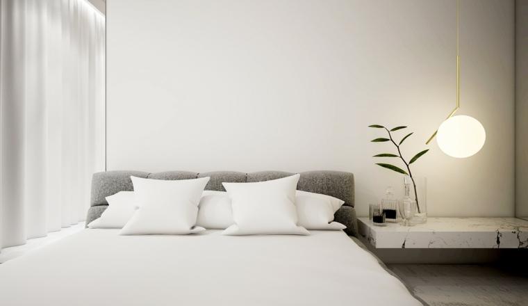 plantes coussins de meubles de couleurs strictes