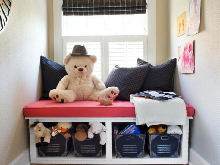 meubles-décorés-de-chambre-d'enfants