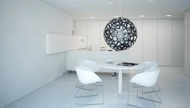 Aspects des concepts de toit de lampe grise