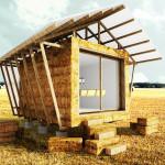 Construction de maisons en paille