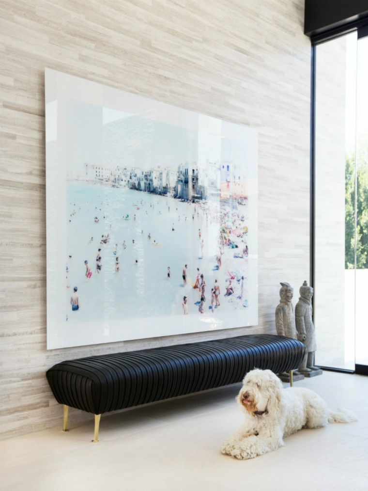 image de banc de couloir de décoration