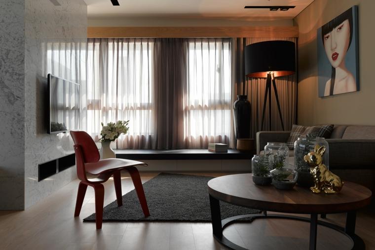 décoration de salon de style moderne idées de design Ganna