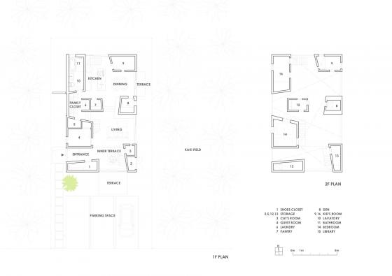 Plans de maison de style japonais