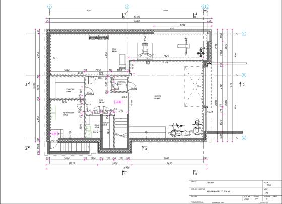 Plans de sous-sol Country Square House