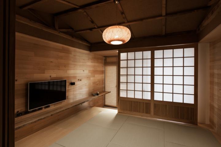 Modèles de variantes de panneaux coulissants japonais