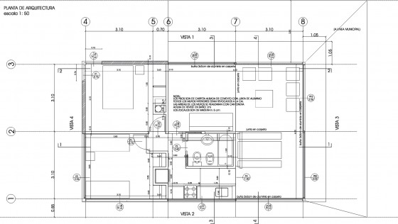 Plan de petite maison de campagne