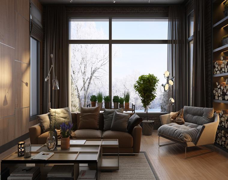 studio de séquoia de conception de maisons de luxe