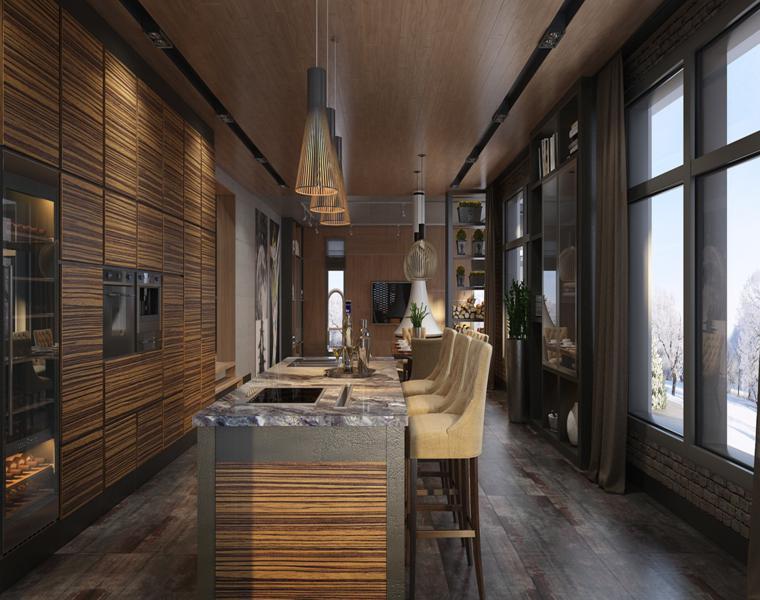 meubles de cuisine design moderne