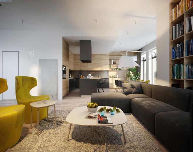 conceptions de meubles modernes