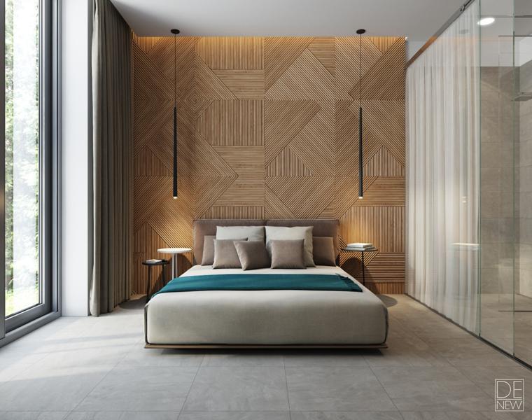 tête de lit murale studio denew room