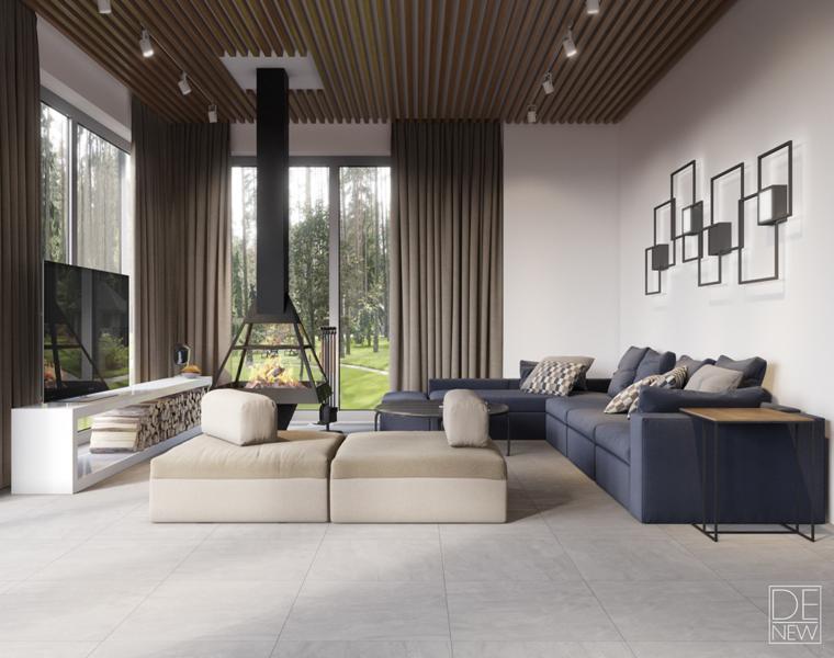 salon salon moderne